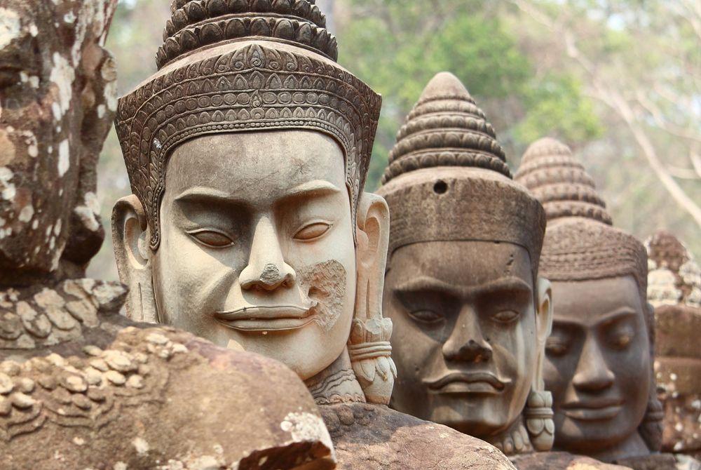 Bussen tussen Thailand en Cambodja