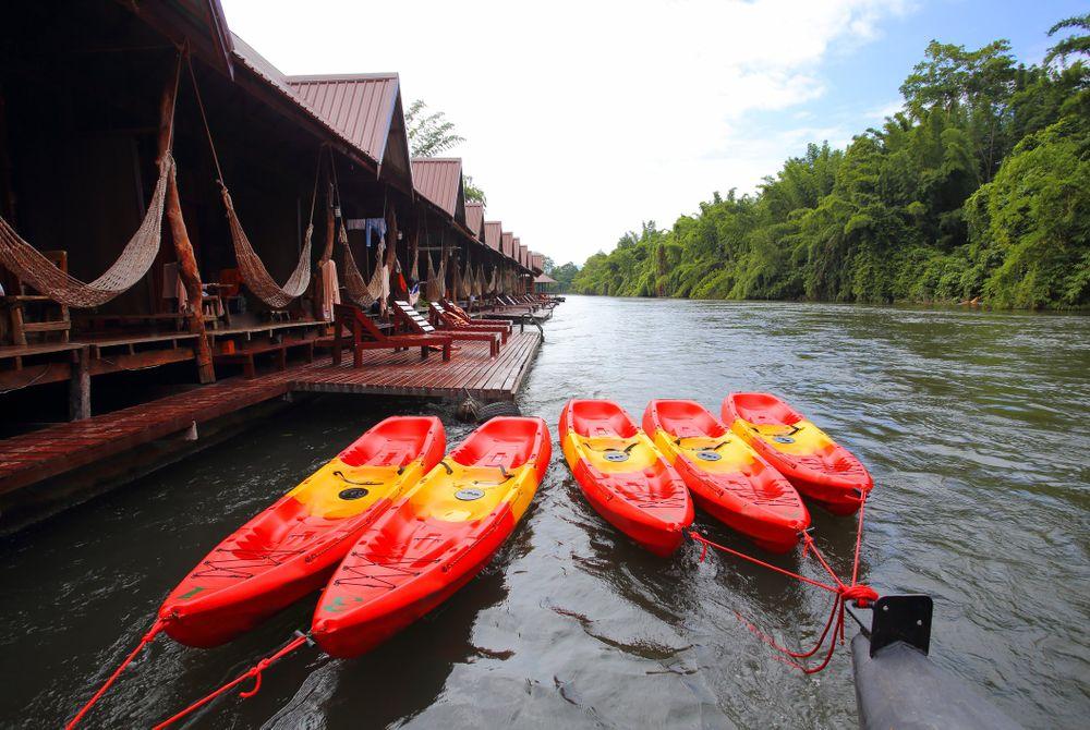 Accommodaties op het water