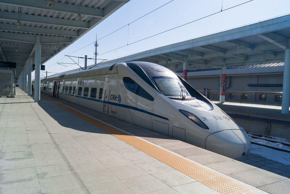 Hogesnelheidslijn China verbindt Peking met Guangzhou