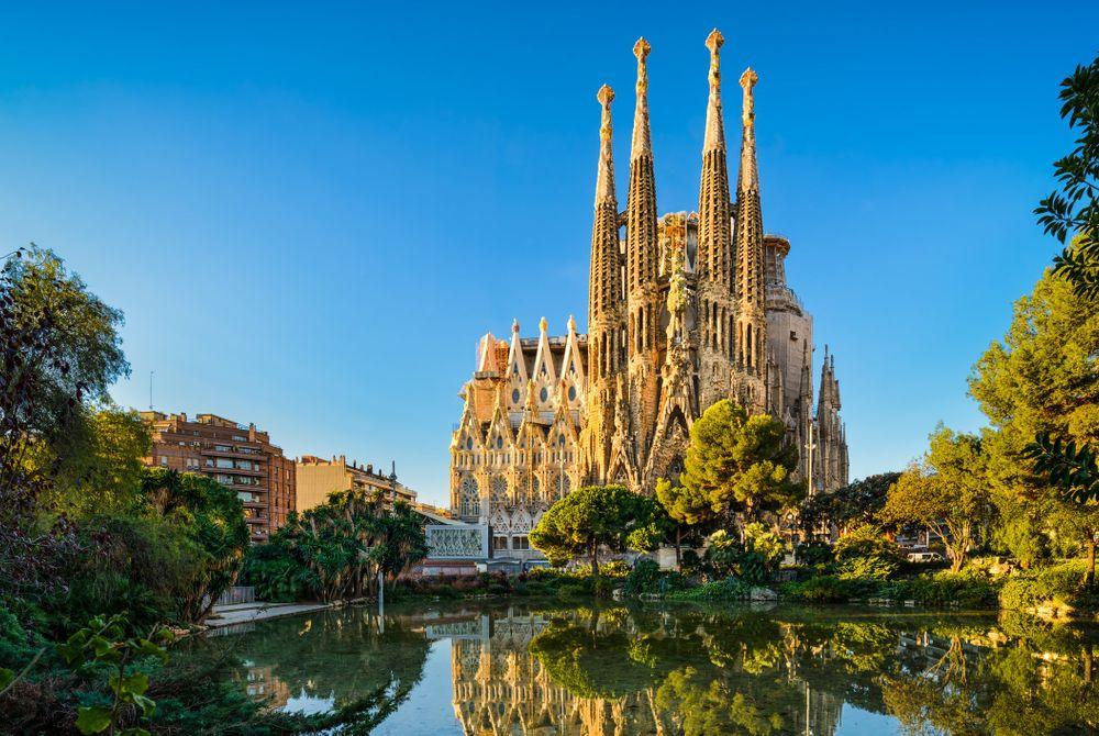 Barcelona in top drie populairste bestemmingen