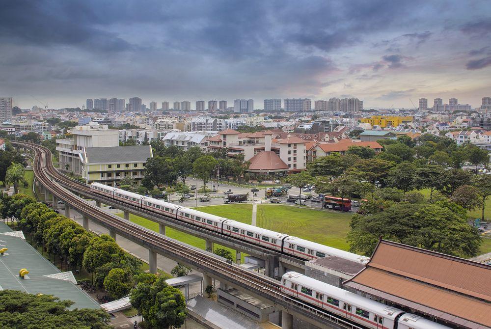 Treinen tussen Singapore en Maleisië