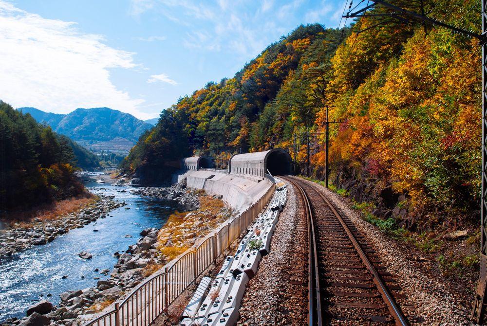 Nieuwe toeristische treinroutes Zuid-Korea