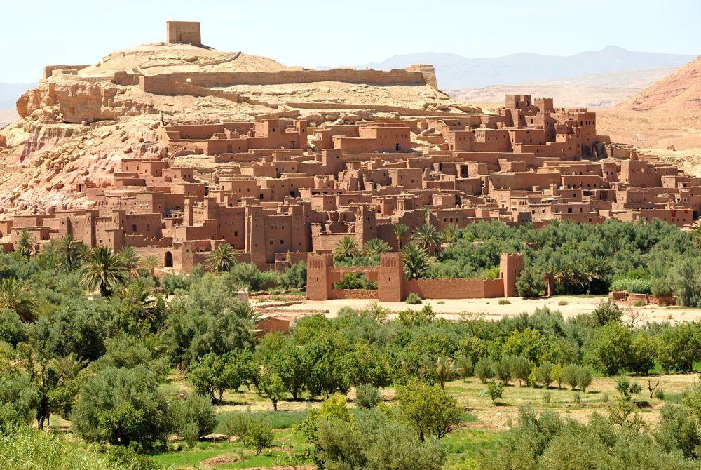 Aït BenHaddou: Hollywood meets Marokko